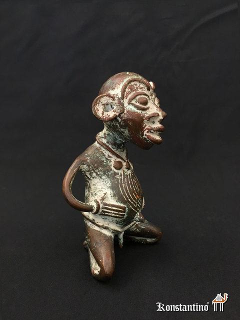 366e1afd37ba 1999-C Figura de bronce con caolín